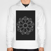 sacred geometry Hoodies featuring Sacred Geometry Print 2 by poindexterity