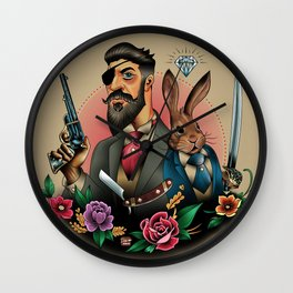 Defend Yourselves... Wall Clock