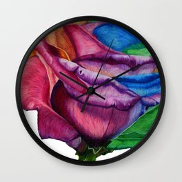 OPEN UP Wall Clock