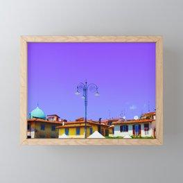 Purple Sky Firenza Framed Mini Art Print