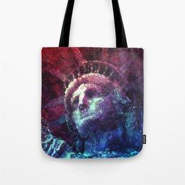 Patriotic Liberty Tote Bag