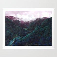 Hometown Valley ~Keikoku~ Art Print