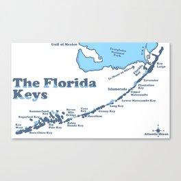 Florida Keys. Canvas Print