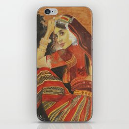 Indian Girl iPhone Skin
