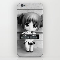 madoka iPhone & iPod Skins featuring MADOKA LINEUP by Christophe Chiozzi