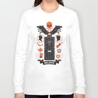 221b Long Sleeve T-shirts featuring 221B by Wharton