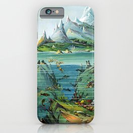 Exotic Ocean by Levi W. Yaggy iPhone Case