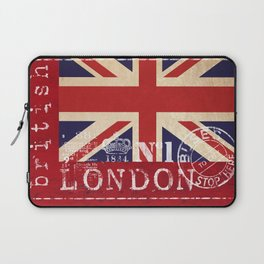 Union Jack Great Britain Flag Laptop Sleeve