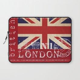 Union Jack Great Britain Flag Laptop Sleeve