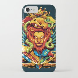 Harry Potter : Hogwarts Houses iPhone Case