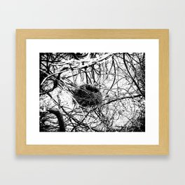 A Home In Chaos Framed Art Print