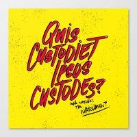 watchmen Canvas Prints featuring Watchmen by Chelsea Herrick