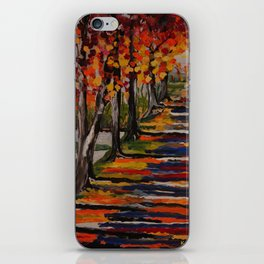 Autumn Tranquility iPhone Skin