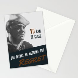VD Can Be Cured - But There's No Medicine For Regret - WW2 Stationery Cards
