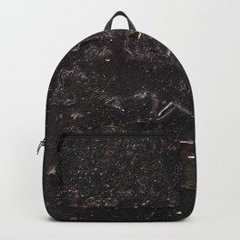 Black old paint Backpack