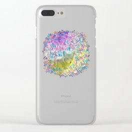 Chromatic Coyote Clear iPhone Case