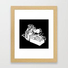 Kinktober Day 26: RolePlay Framed Art Print