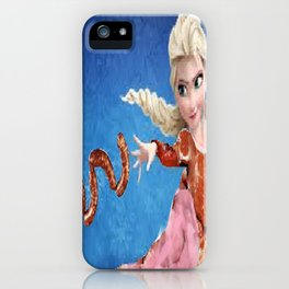 Meat Elsa iPhone Case