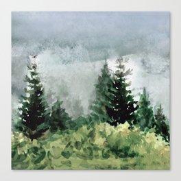 Pine Trees 2 Canvas Print