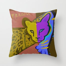 Both Throw Pillow