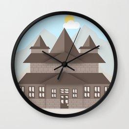 Mountain Home (5-30-16) Wall Clock