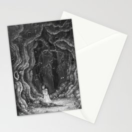 You are never alone Stationery Cards