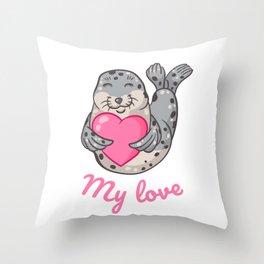 My love! Throw Pillow
