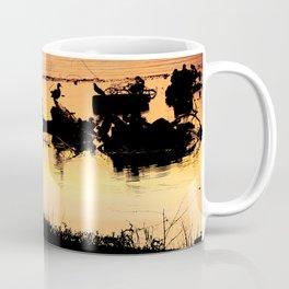 Little Boy Fishing Coffee Mug