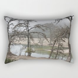Lazy morning in Concan Rectangular Pillow