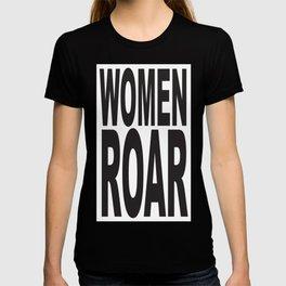 WOMEN ROAR Pop Art T-shirt