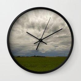 Summer Storm 1 Wall Clock