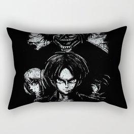 Attack on Grunge Titan Rectangular Pillow