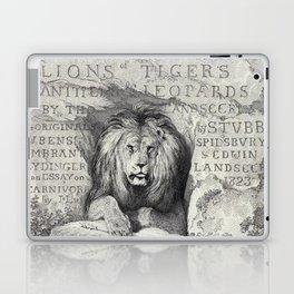 Vintage Lion etching Laptop & iPad Skin