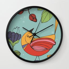 I like this place Wall Clock