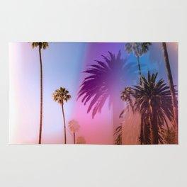 Sunshine and Palm Trees Rug