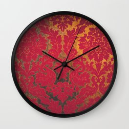 red sole Wall Clock