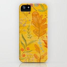 Autumn Blend iPhone Case