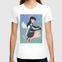 downton abbey T-shirts featuring Abbey by Katherine Galo