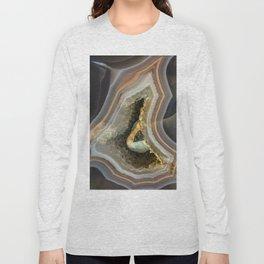 Patterns of agate gem Long Sleeve T-shirt