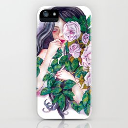 Pale Roses iPhone Case