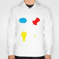 paper towns Hoodies featuring John Green Books - Fault In Our Stars, Abundance Katherines, Paper Towns, Alaska by denise