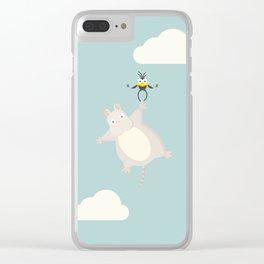 Sky high Clear iPhone Case