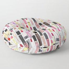 Lipstick Decoys Floor Pillow