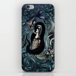 Electric Mermaid iPhone Skin