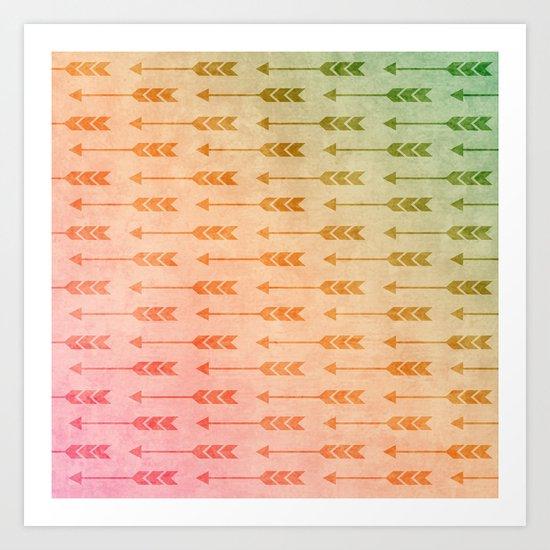 Aztec Pattern 03 Art Print