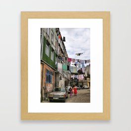 Laundry service Framed Art Print