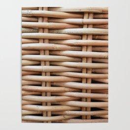 Rustic basket Poster