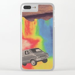 What A Long Strange Trip It's Been Clear iPhone Case