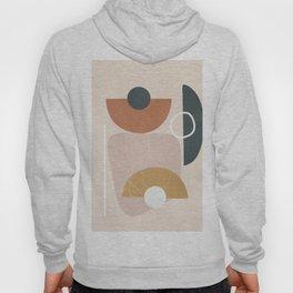 Minimal Abstract Shapes No.56 Hoody