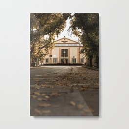 Fall in the city of Subotica, Serbia / Autumn Metal Print